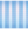 Blue triangles striped pattern vector image