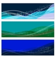 set of abstract sea backgrounds vector image