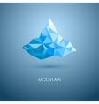 mountain mountain logo vector image