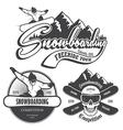 Snowboard 1 vector image