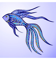 Magic Fish vector image