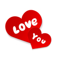 Love you forever vector image
