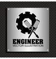engineer concept design vector image