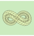 Infinity symbol Can be used as design element vector image