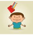 child education design vector image
