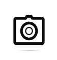 camera digital icon on white background vector image