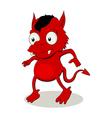 Little Red Devil vector image