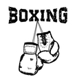 boxing2 vector image