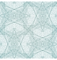 Lace blue seamless pattern Abstract background vector image
