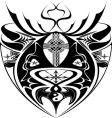 Cross design vector image