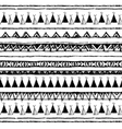 Ethnic seamless pattern Native american tent vector image
