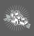 Printshop logo vector image