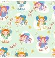 girls fairies Fairy with a vector image