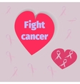 Cancer Awareness Month Banner vector image