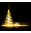 Christmas tree Stock vector image
