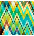 Color Abstract Zigzag Background vector image