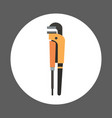 pliers icon working hand tool equipment concept vector image