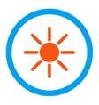 Brightness Rounded Icon vector image