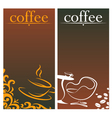 Design for coffee vector image