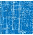 simulating engineering blueprint vector image