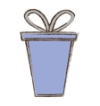 color gift box ribbon event celebrate sketch vector image