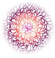 round pattern vector image