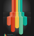 Retro color abstract background vector image