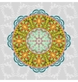 Ornamental round Paisley vector image