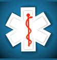 medical light background vector image