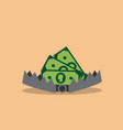 trap with money vector image