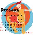 2016 december sagittarius vector image vector image