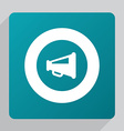 flat speaker symbol icon vector image