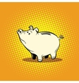 Funny piggy Bank vector image