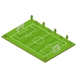 Green Grass Football Field vector image