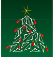 Sales Christmas Tree vector image