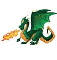 magical dragon vector image