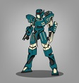 Super War Robot vector image