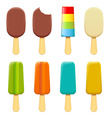ice cream on a stick vector image