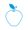 delicious apple fruit vector image
