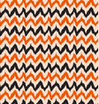 ikat pattern zig zag vector image