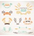 Set of nature design elements vector image