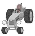 Traktor vector image