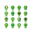Saint Patricks Day Badges vector image vector image