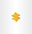 letter s gradient logotype icon vector image