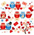 Love Owls vector image