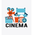 cinema concept vector image