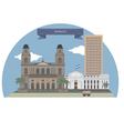Managua vector image