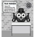 Tax Haven vector image