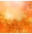 christmas warm background vector image