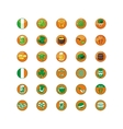 Saint Patricks Day Icons vector image